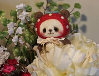 Strawberry Panda by TeacupLion