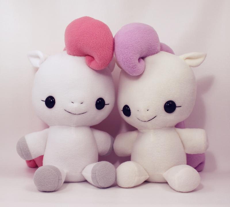 Floppy Plushie - Baby Pony by TeacupLion