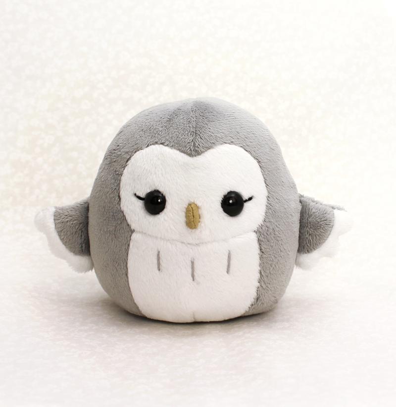 Pygmy Owl Plushie by TeacupLion