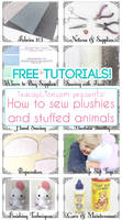 How To Sew Plushies And Stuffed Animals