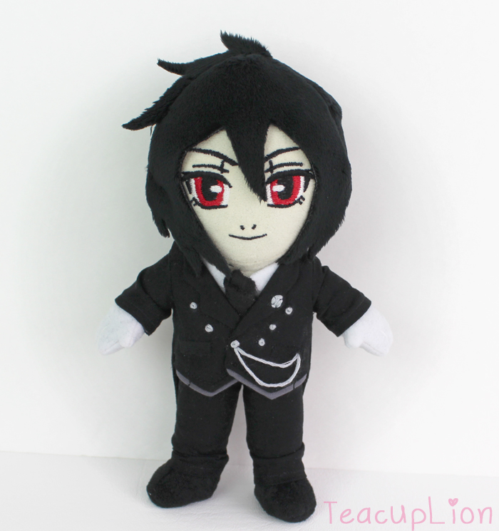 Black Butler Sebastian plush by TeacupLion