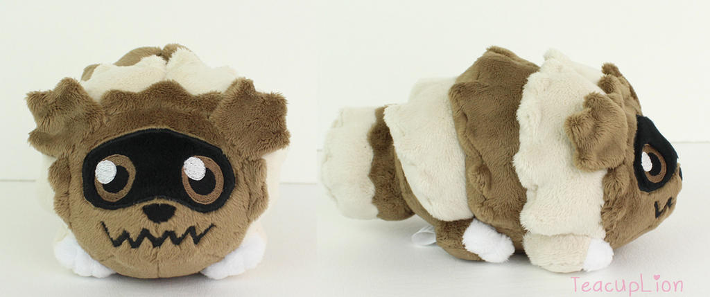 Zigzagoon Pokedoll by TeacupLion