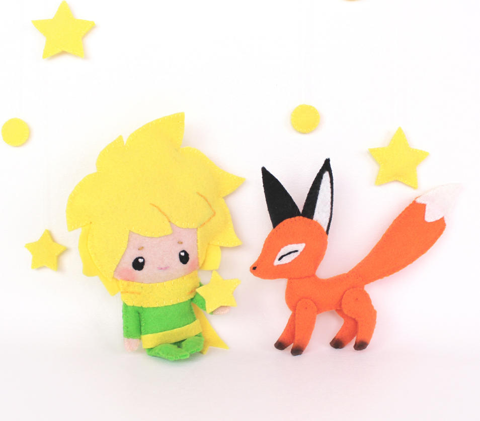The Little Prince and Fox by TeacupLion