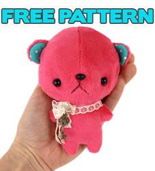 Free pattern: Pocket Bear by TeacupLion