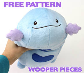 Free Wooper pattern pieces by TeacupLion