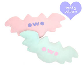 spoopy owo bats by TeacupLion