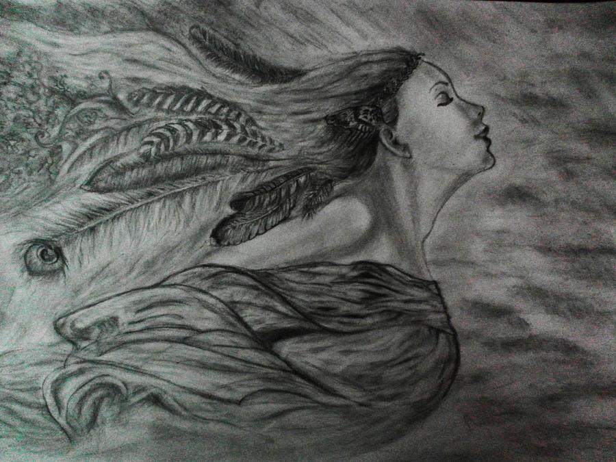 Fantasy drawing by Vronkizaur on DeviantArt
