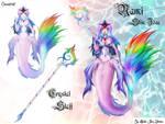 Nami Rainbow Betta Skin