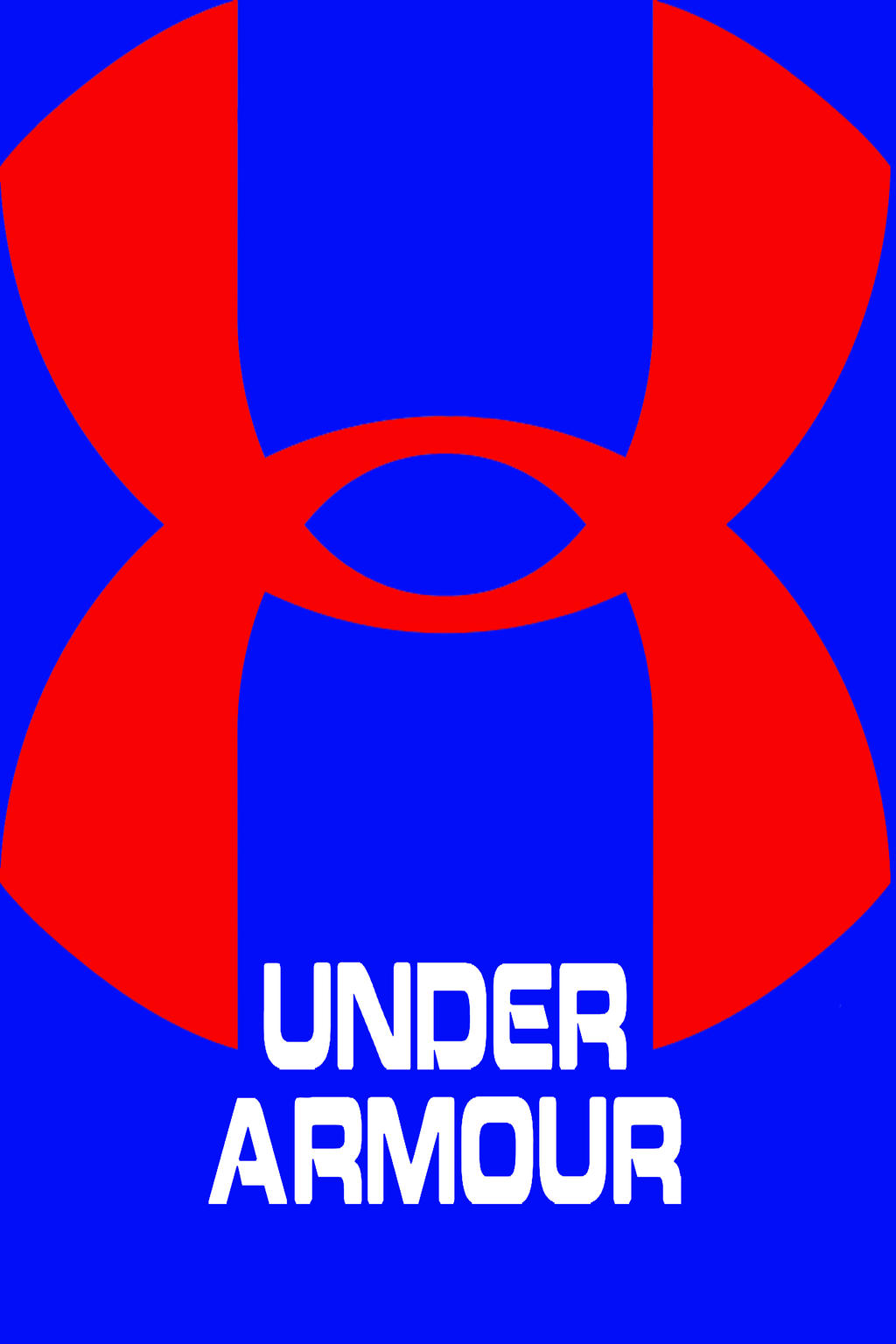 under armour logo red