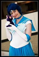 Sailor Mercury - Kitty Cuddles by MandyNeko