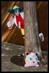 Kris catches a Jigglypuff