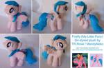 Firefly G1 My Little Pony plush