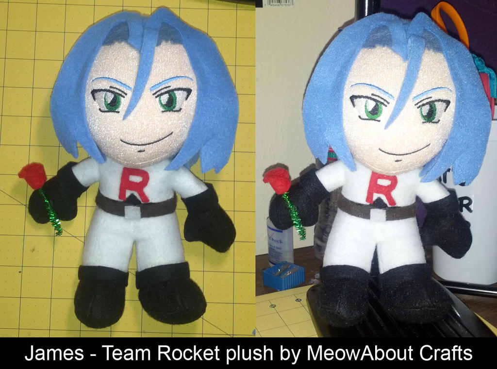 James of Team Rocket - plush doll by MandyNeko