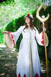 Lady White Mage - elegant healer