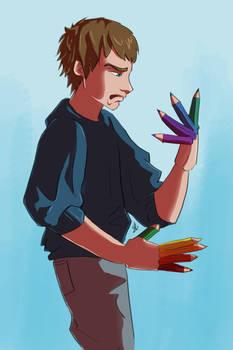 Edward pencilhands