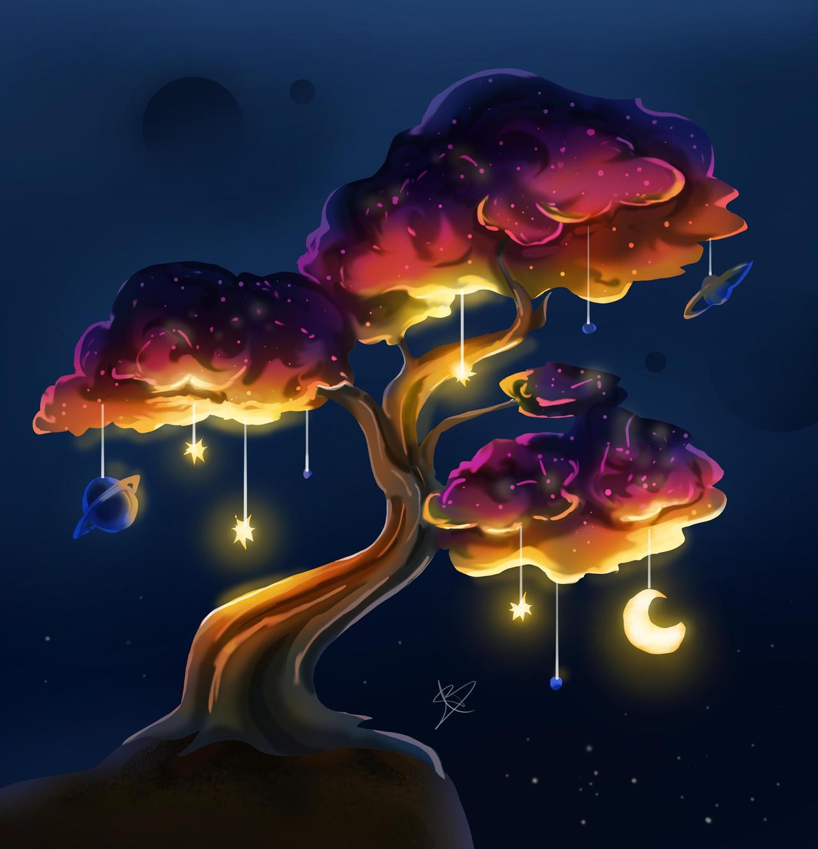 Planets bonsai