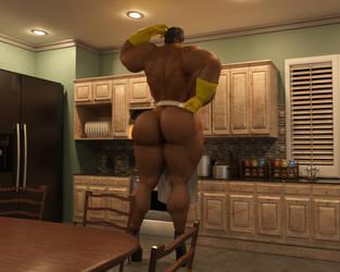 A Bigger Kitchen by Lenni543210
