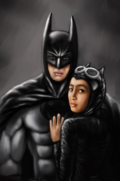 batman and catwoman in real life by neilfernando on deviantart