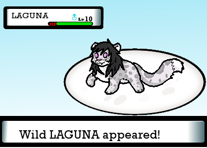 A Wild LAGUNA Appeared by ShokiDeNai