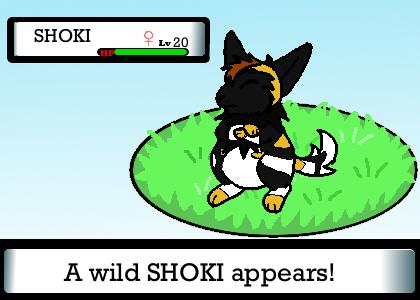 Wild SHOKI appears by ShokiDeNai