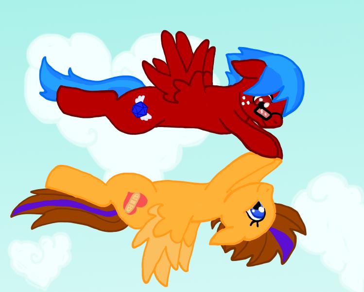 Synchronized Flight by ShokiDeNai