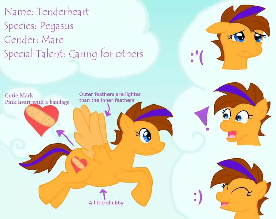 My Little Reference: Tenderheart by ShokiDeNai