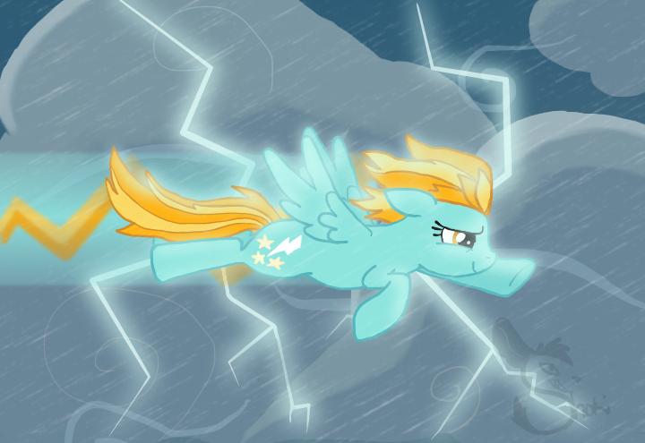 Lightning Dust by ShokiDeNai