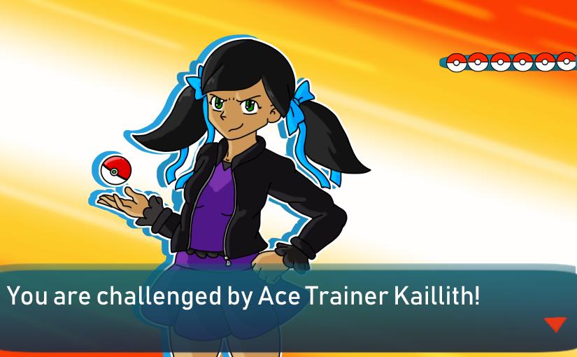 Ace Trainer Kaillith by ShokiDeNai