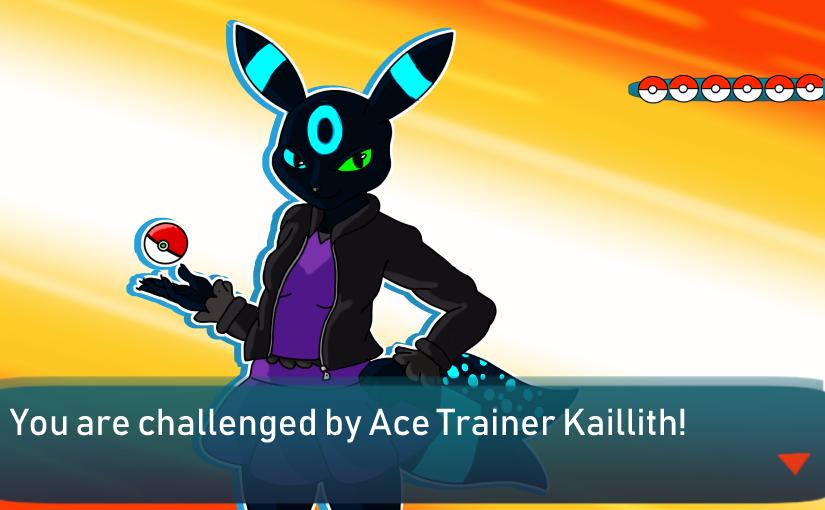 Ace Trainer Kaillith [alt] by ShokiDeNai