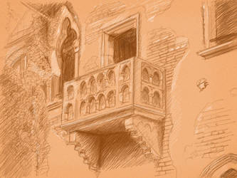 sketch  balcony by ampafra