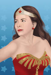wonder woman by ampafra