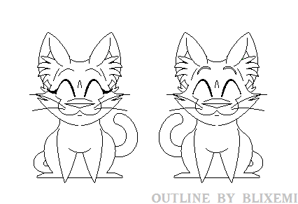 Dumb Ways to Die Lineart! *Free to use* by Blixemi
