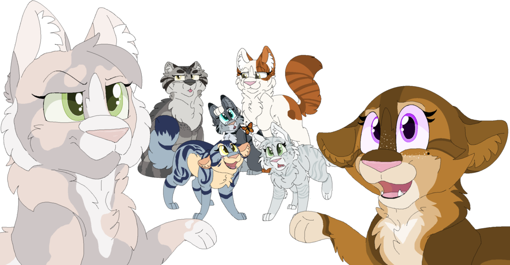 Warrior Cats Base Girl