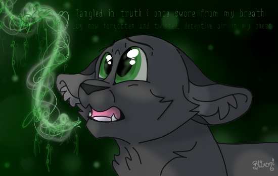 Tangled in the Truth - Hollyleaf by Blixemi