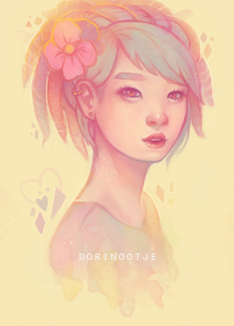 pastel splash by Dorinootje