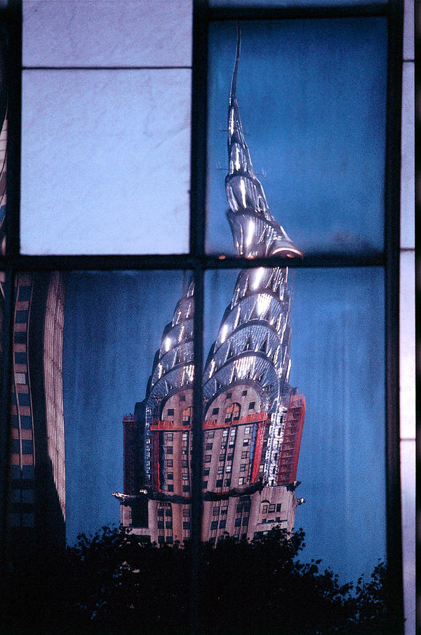 Chrysler Building-Dirty Window by yori1976