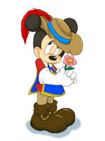 The Three Musketeers Mickey by hat-M84