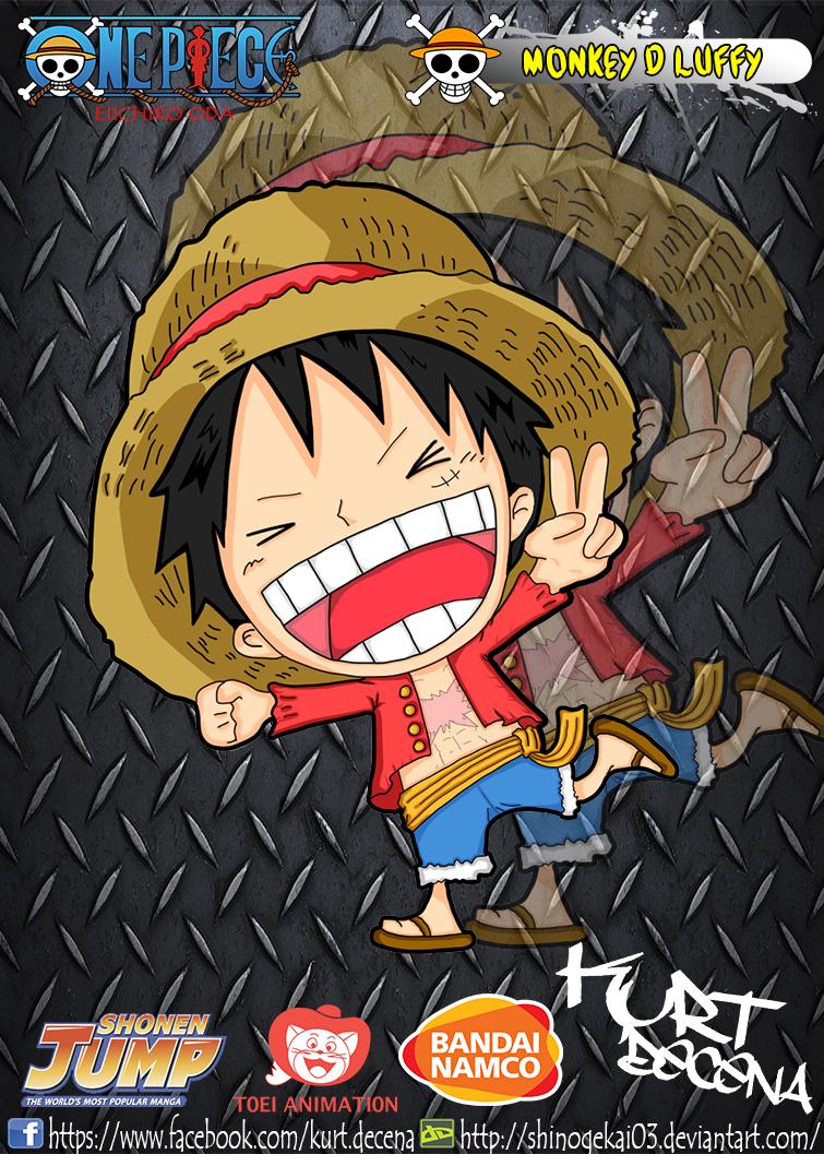 luffy chibi new world by shinogekai03 on deviantart