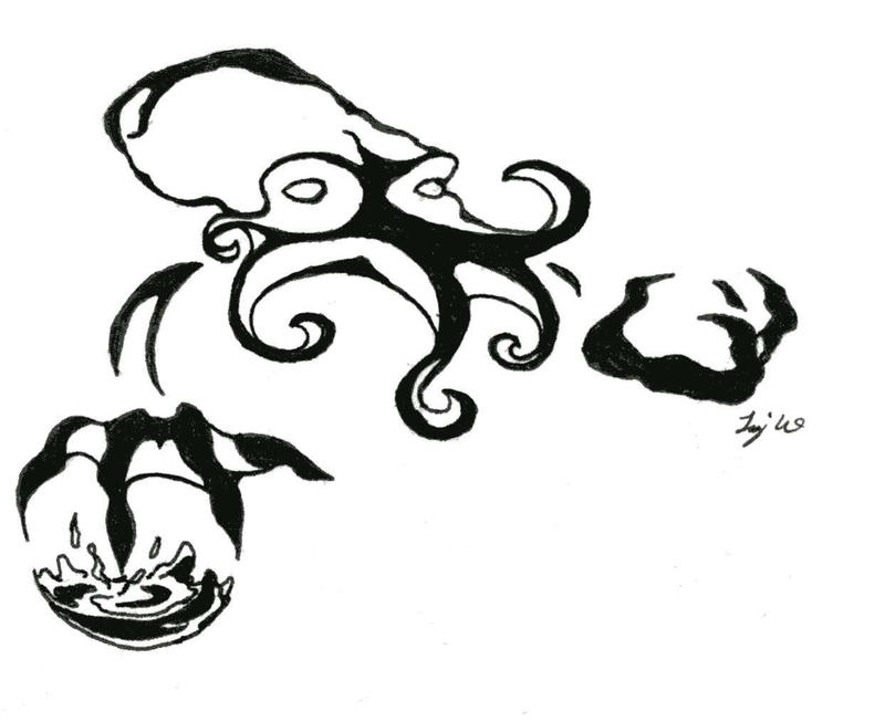 Traditional Tattoo Line Drawing : Traditional japanese tattoo by andy san on deviantart