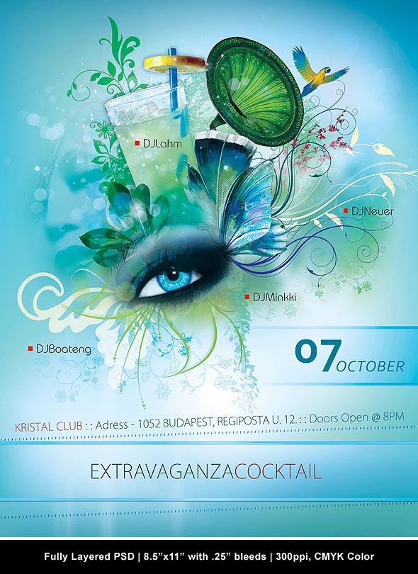 Extravaganza Flyer by Minkki2fly