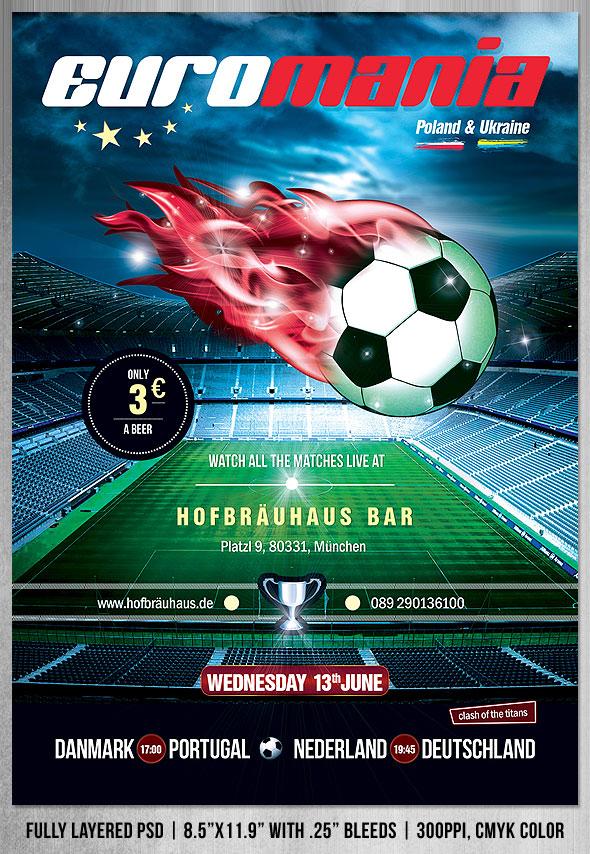 EuroMania Football (Soccer) Flyer