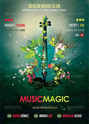 Music Magic Flyer