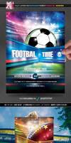European and American Football Flyer