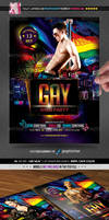 Gay Party Flyer