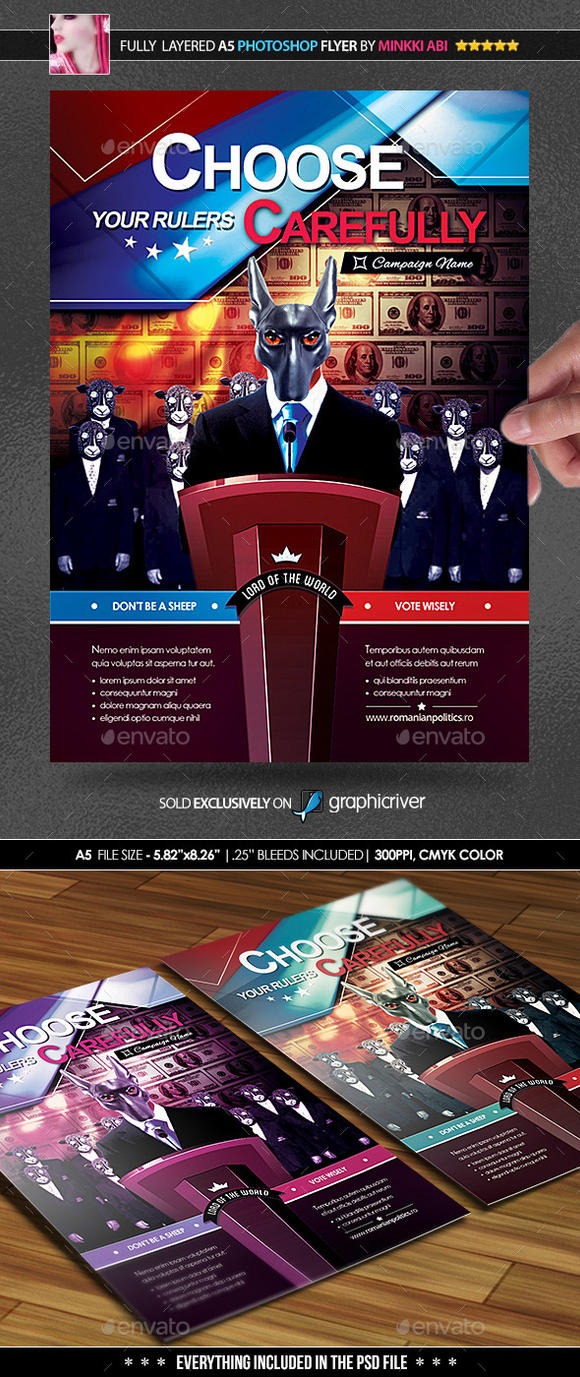 election awareness flyer by minkki2fly on deviantart