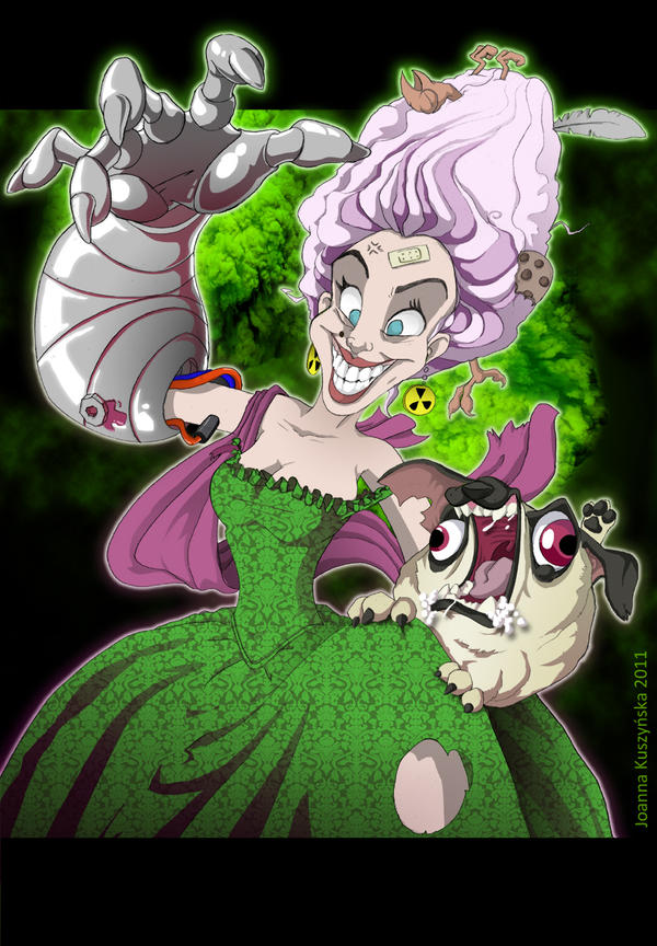 Twisted Marie Antoinette by cieczew
