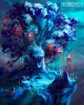 Tree with jellyfish