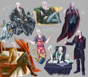 OC sketches: Lucius