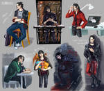 OC sketches: Astat by Shadow-insomnia