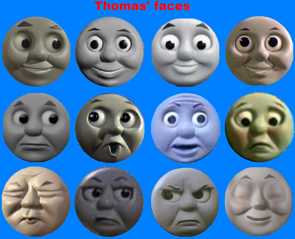 Thomas 39 faces by grantgman on deviantart for Thomas the tank engine face template